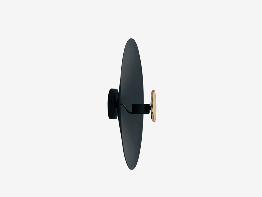 Wall-mounted metal candle holder NEO by RADAR INTERIOR