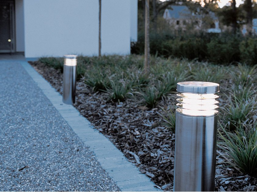 Stainless steel bollard light NEPTUNE by ROYAL BOTANIA