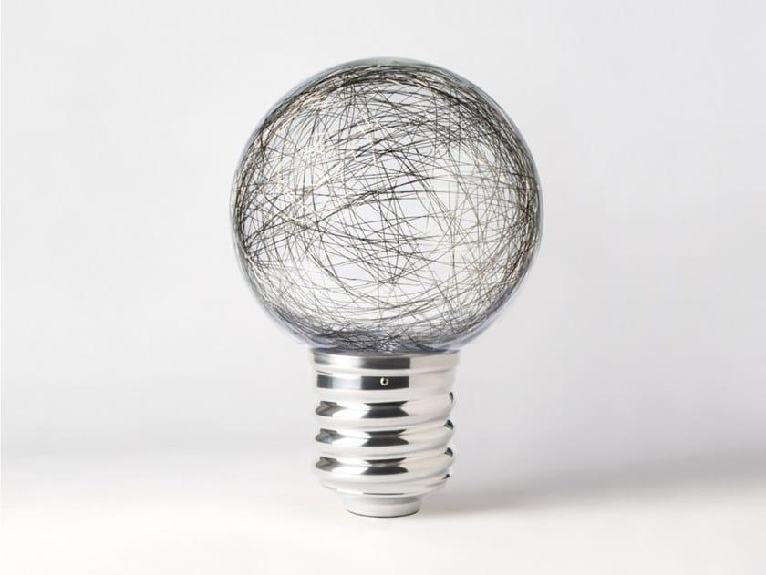 Lampada da tavolo in alluminio e policarbonato senza fili NEPTUNE | Lampada da tavolo senza fili by HISLE
