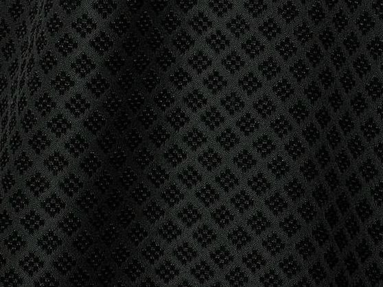Fire retardant Trevira® CS fabric NERO by LELIEVRE