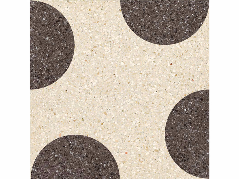 Marble grit wall/floor tiles NERONE by Mipa