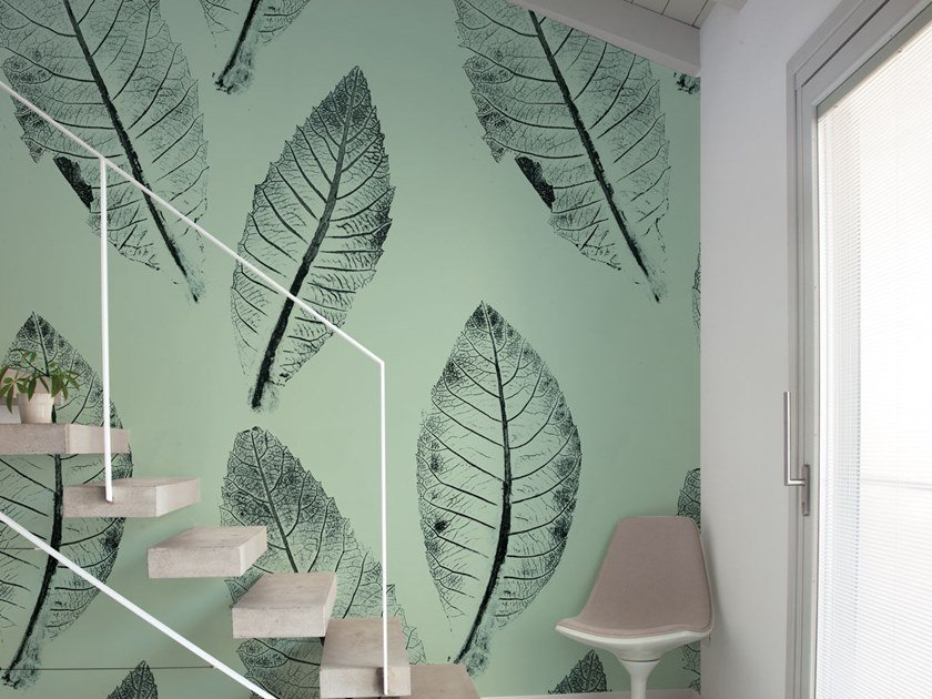 Fire retardant Digital printing wallpaper NESPOLA by NANNI GIANCARLO & C.