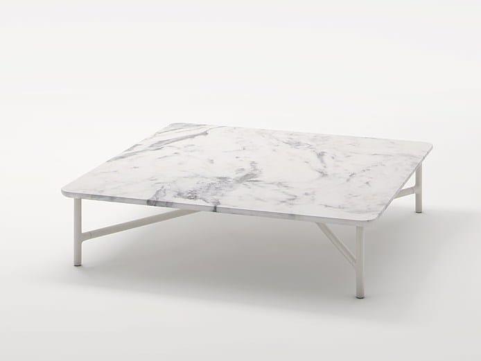 Tavolino basso quadrato NESSO | Tavolino quadrato by Paola Lenti