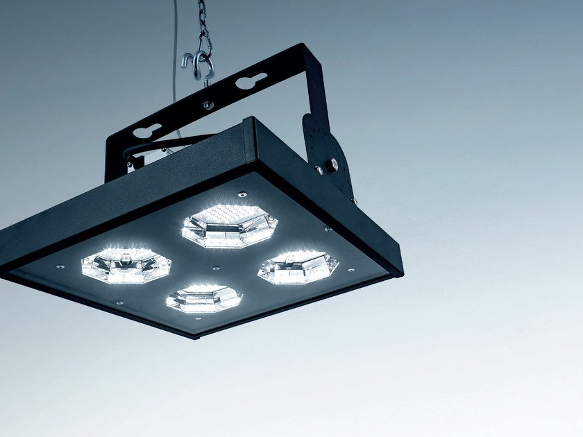 LED steel industrial projector NEST by PLEXIFORM
