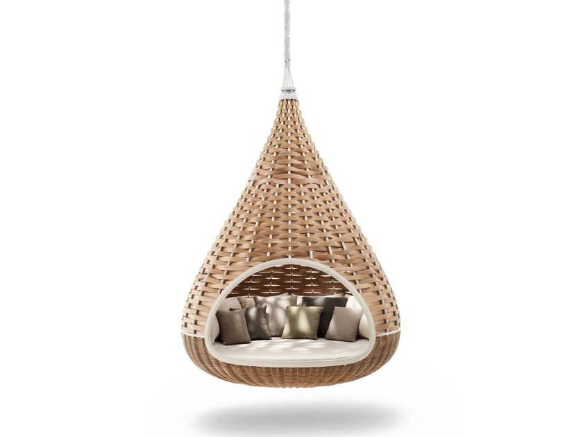 Igloo garden hanging chair NESTREST | Garden hanging chair by DEDON