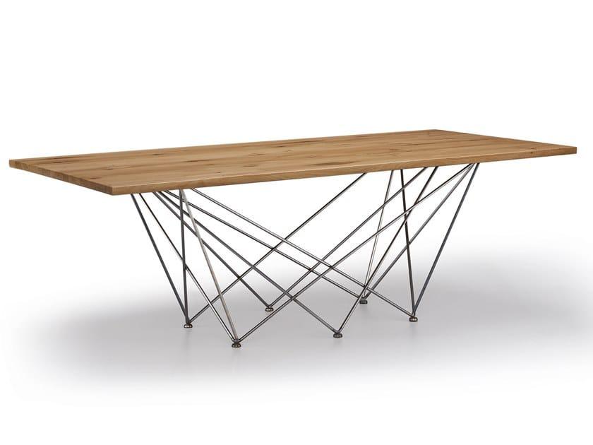 Rectangular table NET by Natisa