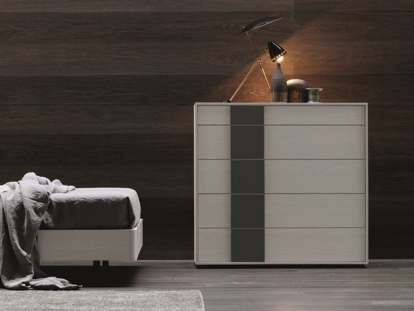 Melamine-faced chipboard chest of drawers NETTUNO | Chest of drawers by Febal Casa