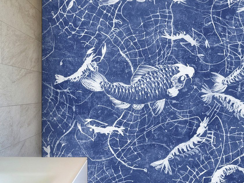 Ecological washable PVC free wallpaper NETWORK by Wallpepper