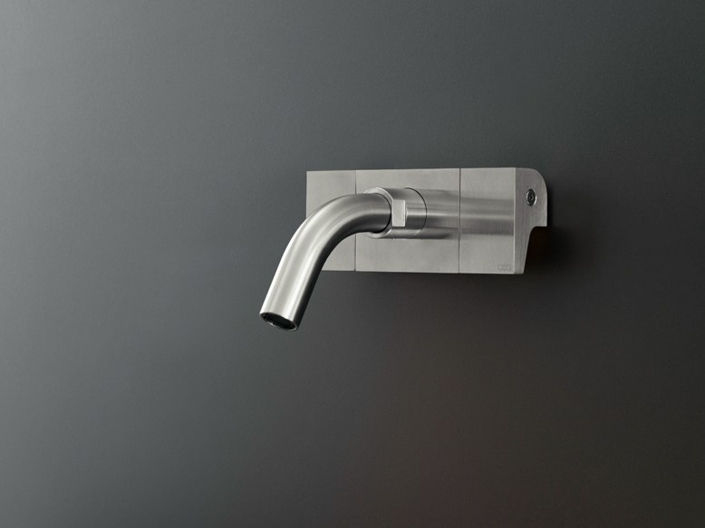 Dual lever wall mounted mixer NEU 16 by Ceadesign