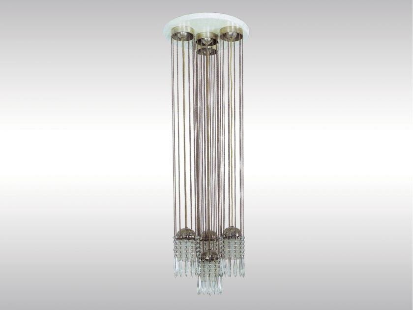 Metal pendant lamp NEUSTIFTGASSE by Woka Lamps Vienna