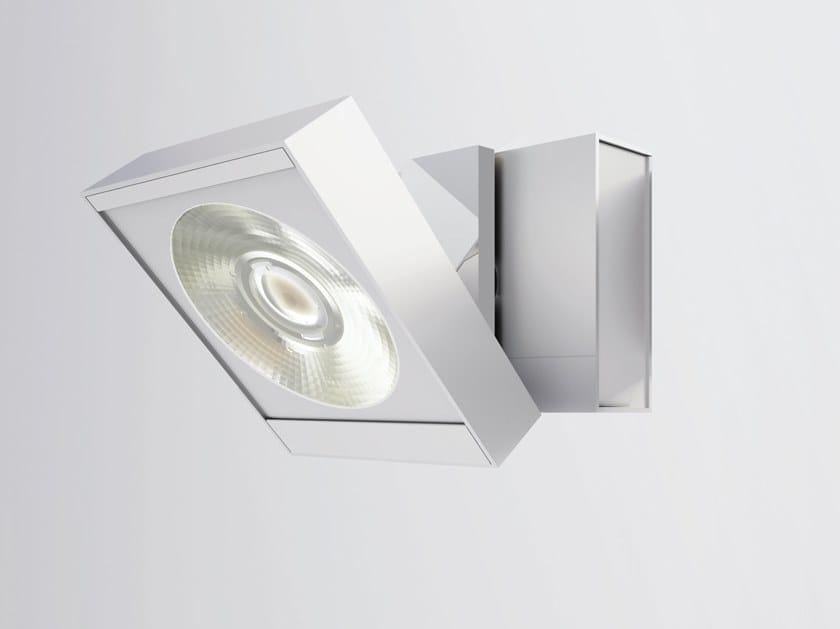 Faretto a LED orientabile in alluminio NEUTRA BASE by Letroh