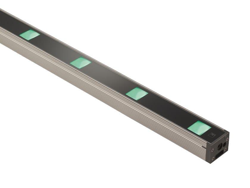 Barra a LED in alluminio anodizzato per esterni Neva 7.1 by L&L Luce&Light