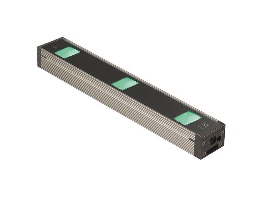 Barra a LED in alluminio anodizzato per esterni Neva Mini 7 by L&L Luce&Light