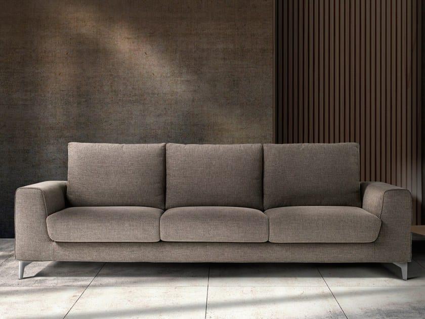 3 seater fabric sofa NEVE by Max Divani