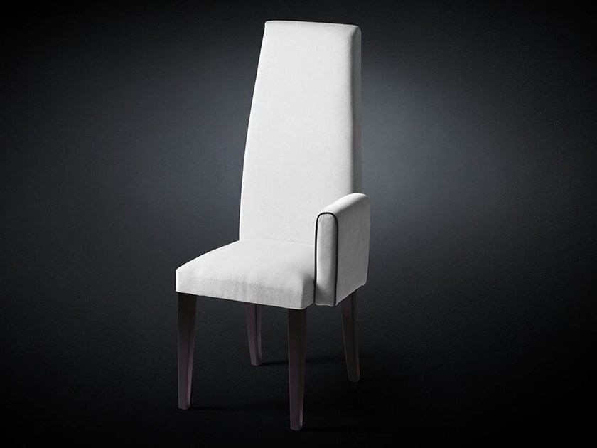 Fabric chair with armrests NEW SIDNEY by VGnewtrend