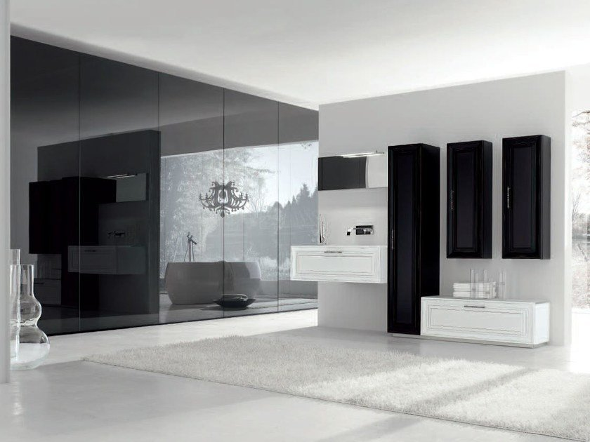 Bathroom cabinet / vanity unit NEW STYLE - COMPOSITION 5 by Arcom