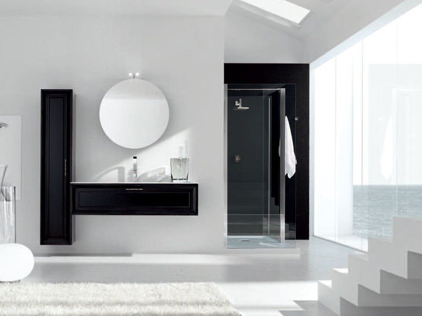 Lacquered vanity unit NEW STYLE - COMPOSITION 6 by Arcom