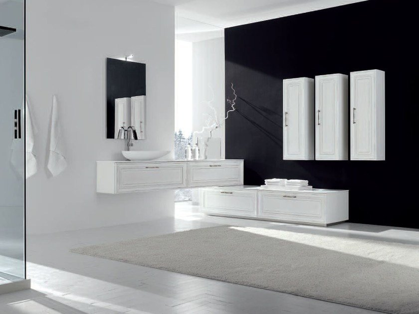 Bathroom cabinet / vanity unit NEW STYLE - COMPOSITION 8 by Arcom