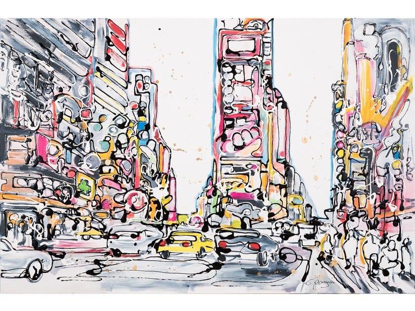Quadro in tela New York Five by NOVOCUADRO ART COMPANY