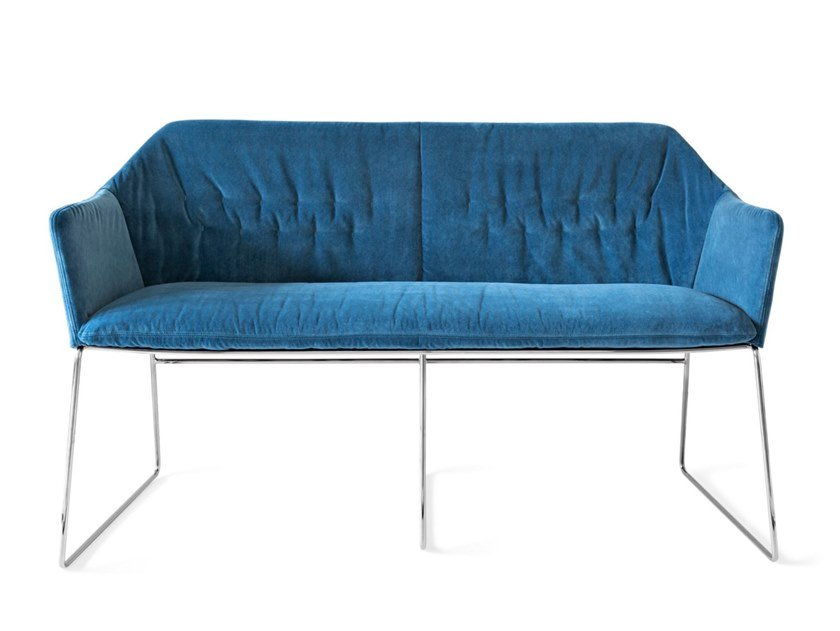 Fabric small sofa NEW YORK | Small sofa by Saba Italia