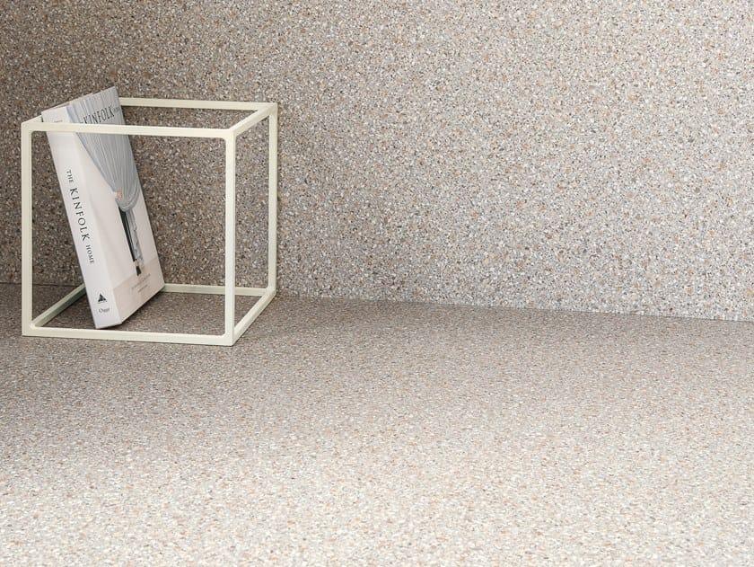 Pavimento/rivestimento in gres porcellanato effetto terrazzo veneziano NEWDECÒ PEARL by CERAMICA SANT'AGOSTINO