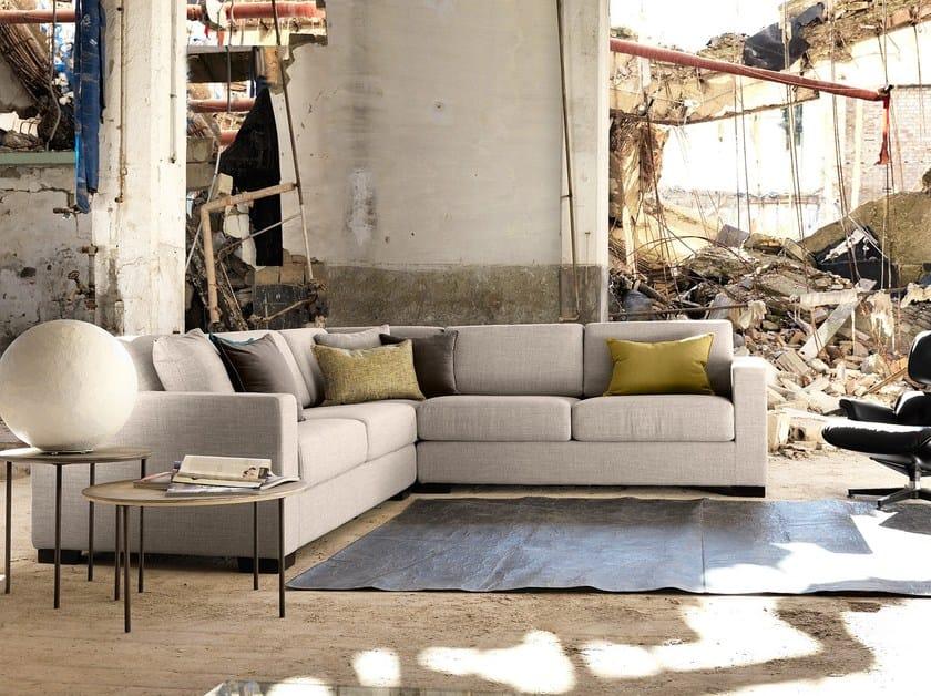 Corner fabric sofa NEWMAN | Corner sofa by Domingo Salotti