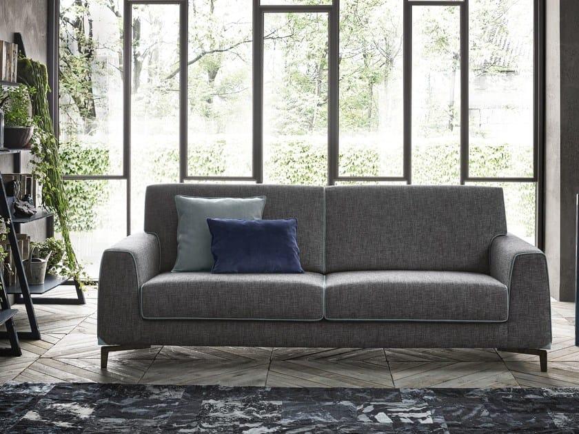 3 seater fabric sofa NEWMAN | Fabric sofa by Felis