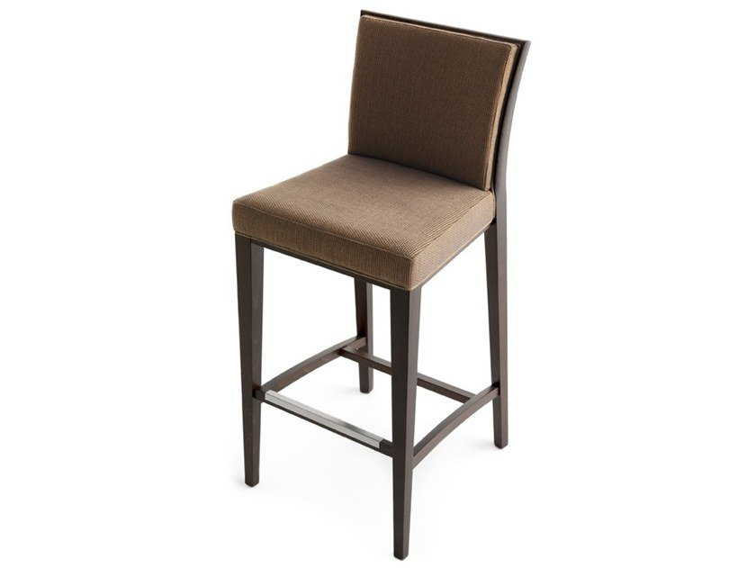 High upholstered stool NEWPORT 01881 by Montbel
