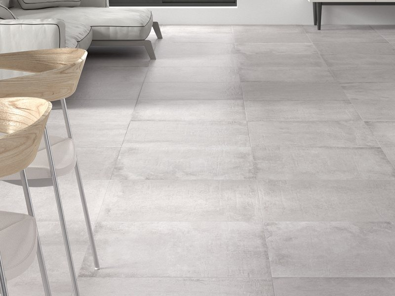 Wall/floor tiles with concrete effect NEWPORT GRAY by Venis