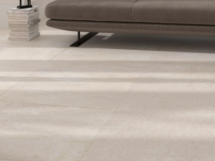Wall/floor tiles with concrete effect NEWPORT NATURAL NATURE by Venis