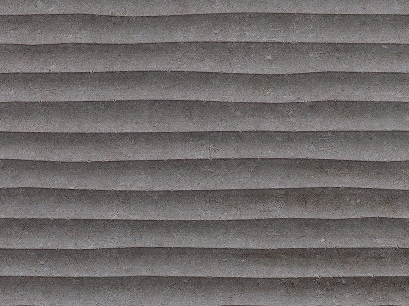 3D Wall Cladding with concrete effect OLD DARK GRAY by Venis