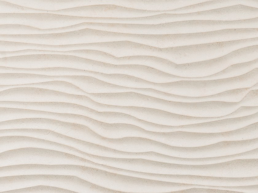3D Wall Cladding with concrete effect PARK BEIGE by Venis