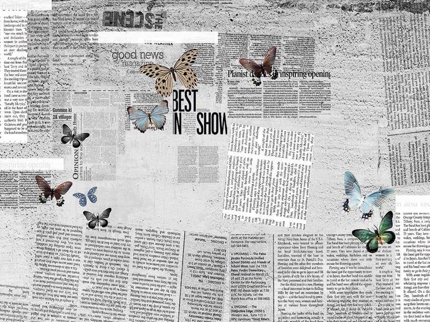 Wallpaper NEWSPAPER by Adriani e Rossi edizioni