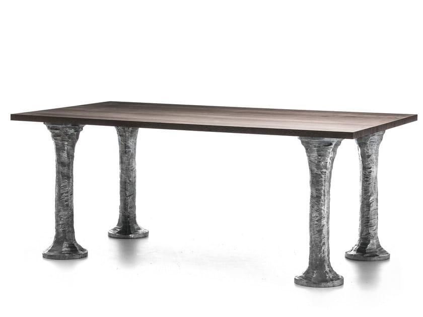 Rectangular wooden table NEXT 134 by Gervasoni