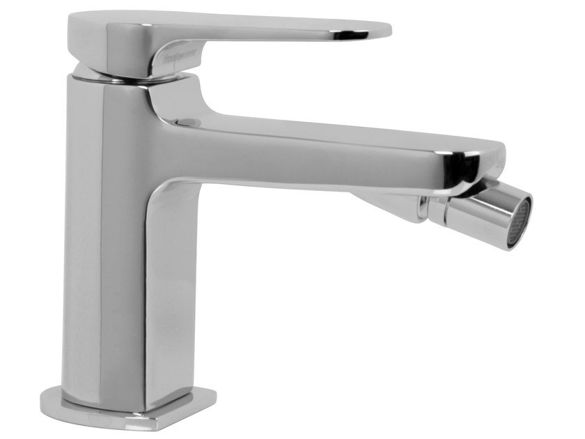 Countertop single handle bidet tap with swivel spout NEXT F3942 | Bidet tap by FIMA Carlo Frattini