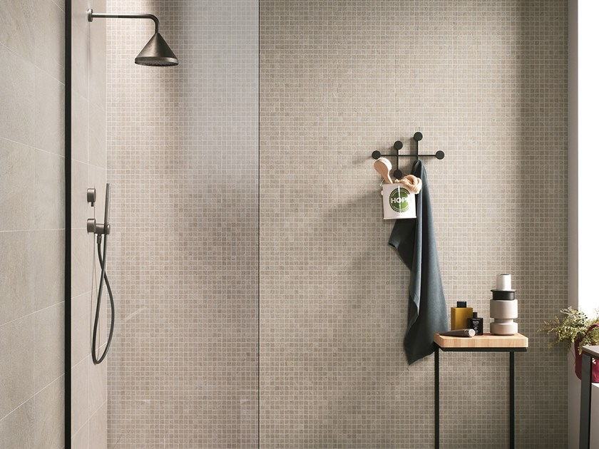 Ceramic wall/floor tiles with stone effect NEXTONE TAUPE by LEA CERAMICHE