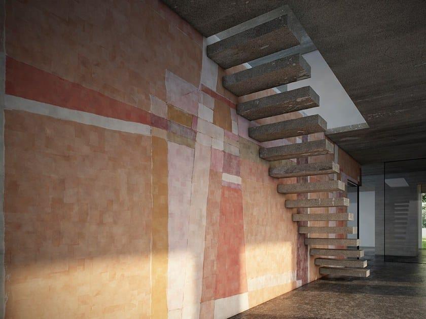 Geometric wallpaper NEXUS by GLAMORA