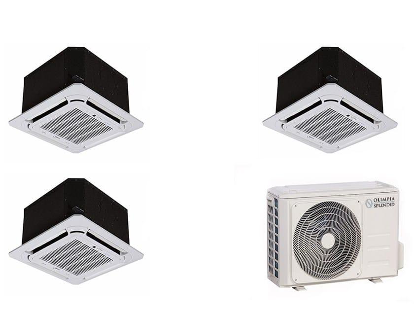 Cassette ceiling mounted Multi-split air conditioning unit NEXYA S4 E Cassette Inverter Multi by OLIMPIA SPLENDID