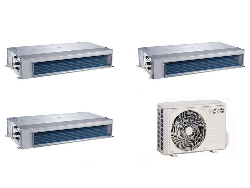 Wall mounted ceiling concealed Multi-split air conditioning unit NEXYA S4 E Duct Inverter Multi by OLIMPIA SPLENDID