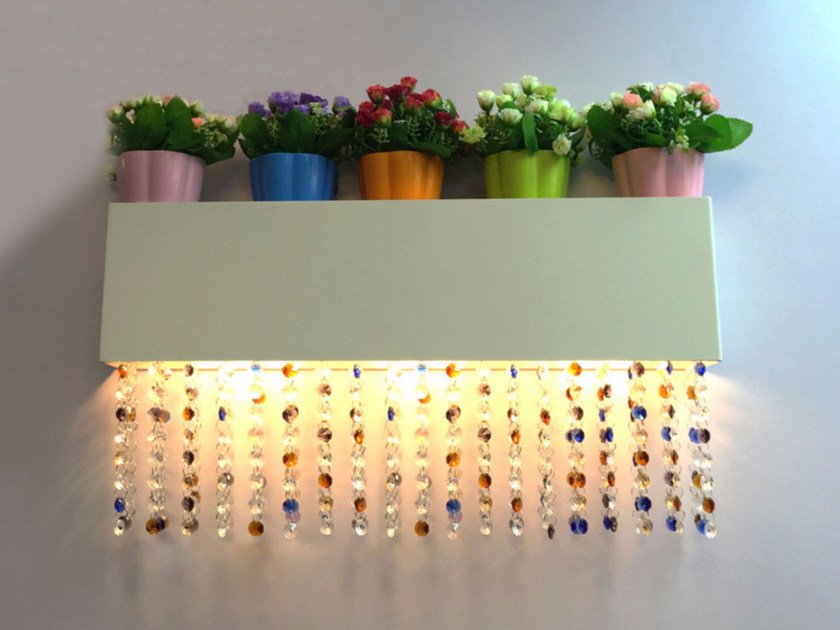 Wall lamp with Swarovski® crystals NGW R1160 | Wall lamp by Neonny