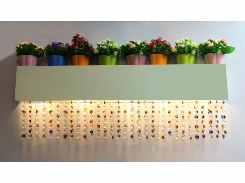 Wall lamp with Swarovski® crystals NGW R1190 | Wall lamp by Neonny