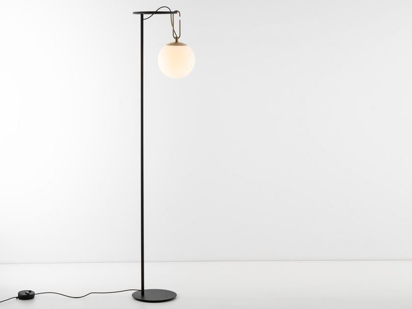 Lampada da terra a LED a luce diretta NH   Lampada da terra by Artemide