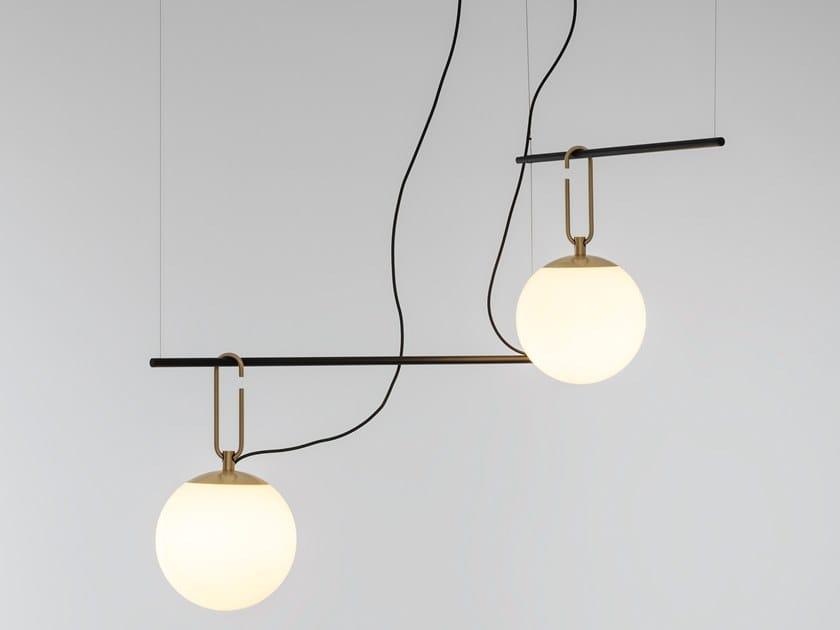 Lampada a sospensione a LED a luce diretta NH S CLUSTER by Artemide