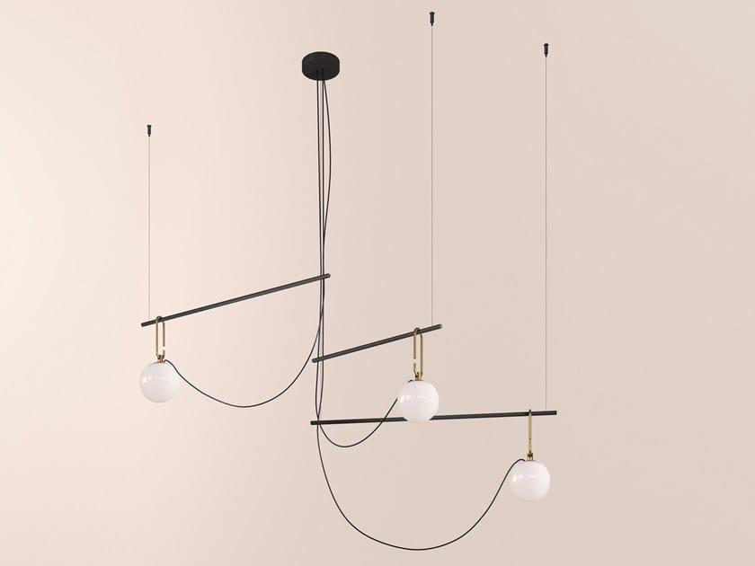 Lampada a sospensione a LED a luce diretta NH S4 14 by Artemide