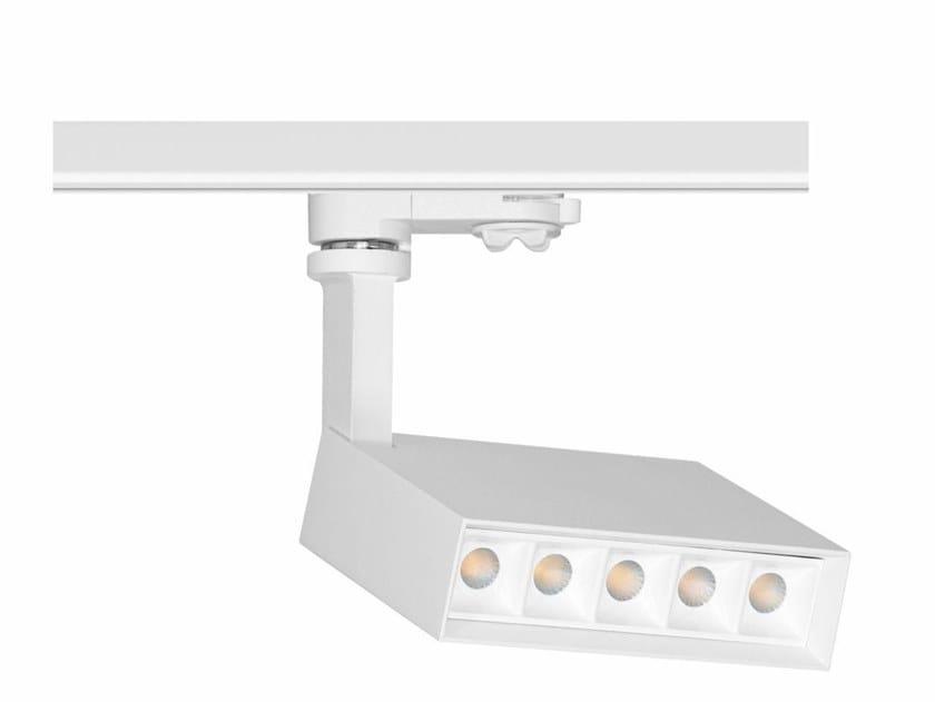 Illuminazione a binario a LED in alluminio NICE by BENEITO FAURE