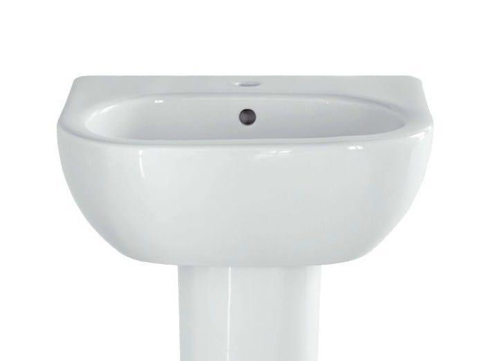 Single ceramic washbasin NICOLE   Single washbasin by Olympia Ceramica