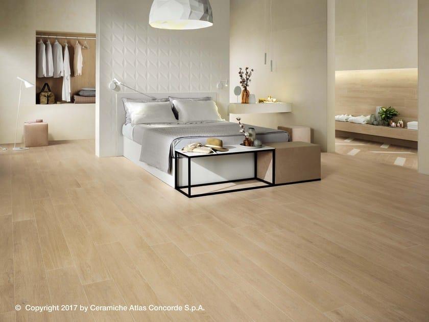 Porcelain stoneware flooring with wood effect NID FLOOR | Flooring by Atlas Concorde