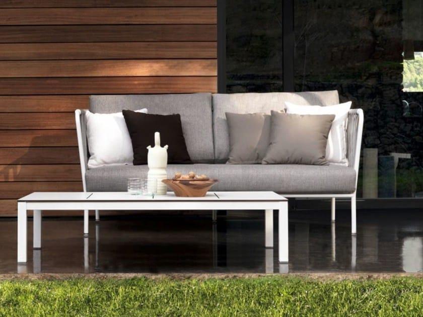 2 seater polyester sofa NIDO | 2 seater sofa by EXPORMIM
