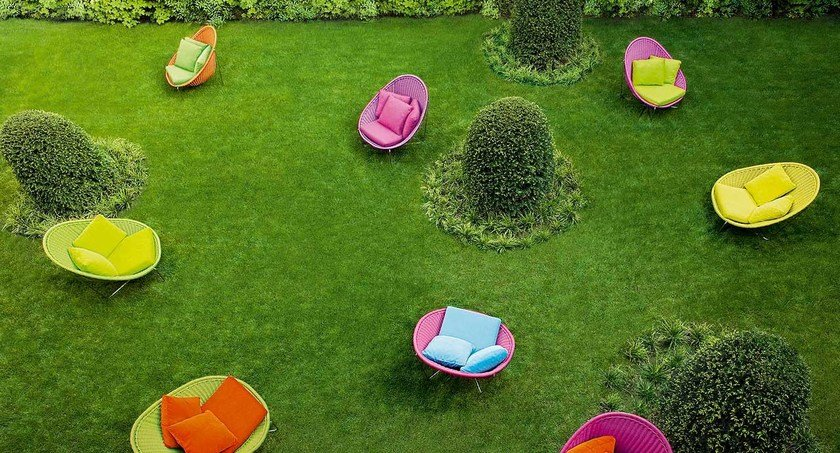 NIDO | Poltrona da giardino