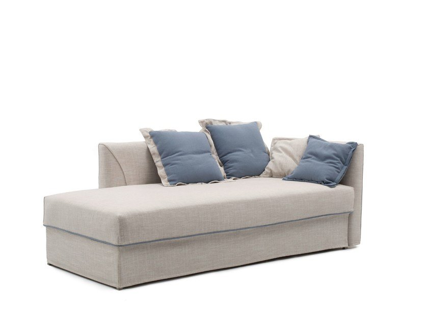 Upholstered fabric day bed NIGHT&DAY MERIDIENNE by Bodema
